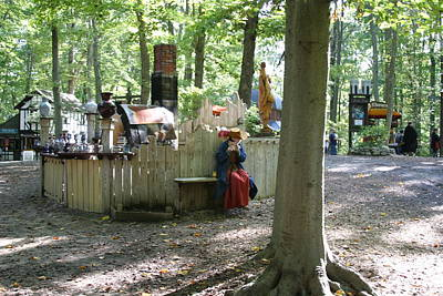 Maryland Renaissance Festival - People - 121253 Poster