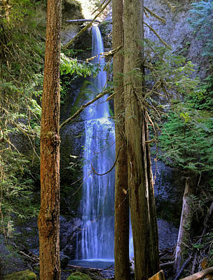 Marymere Falls Poster by SEA Art
