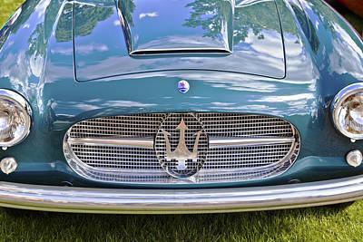 Maserati A6g 54 2000 Zagato Spyder 1955 Poster by Maj Seda