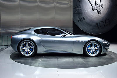 Maserati Alfieri Poster