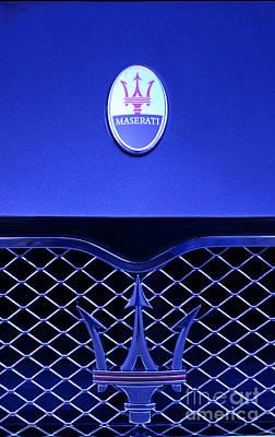 Maserati Badge Poster