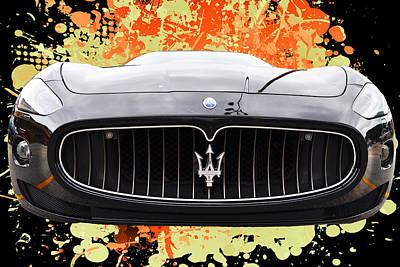 Maserati Granturismo I V Poster