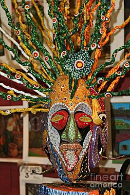 Mask Boricua Poster by The Art of Alice Terrill