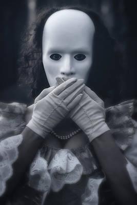 Masked Woman Poster by Joana Kruse