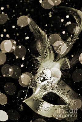 Masquerade Poster by Jelena Jovanovic