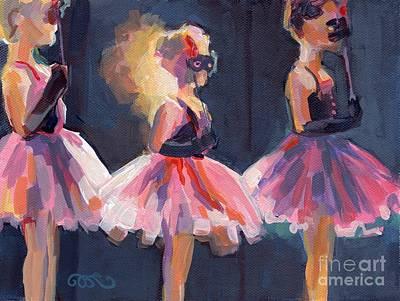 Masquerade Poster by Kimberly Santini
