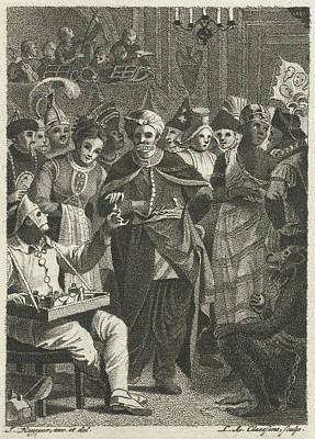 Masquerade, Lambertus Antonius Claessens Poster by Lambertus Antonius Claessens