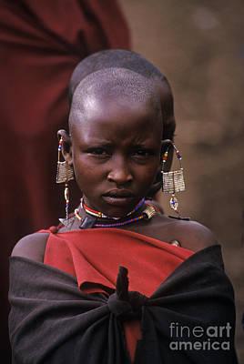Massai Girl - Tanzania Poster by Craig Lovell
