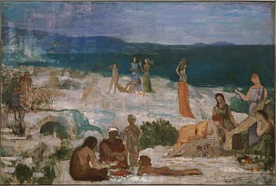 Massilia Greek Colony Poster by Pierre Puvis de Chavannes