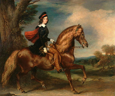 Master James Keith Fraser On His Pony, Sir Francis Grant Poster by Litz Collection