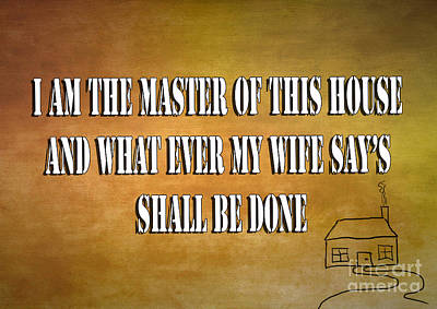 Master Of This House Poster