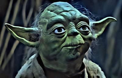 Master Yoda Poster by Florian Rodarte