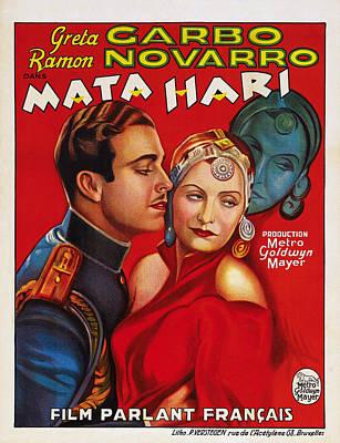 Mata Hari, Ramon Navarro, Greta Garbo Poster by Everett