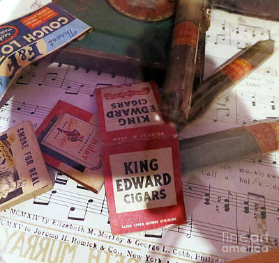 Matches And Cigars Poster