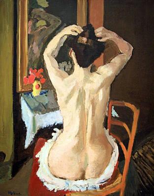 Matisse's La Coiffure Poster by Cora Wandel