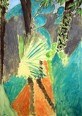 Matisse's Palm Leaf In Tangier Poster