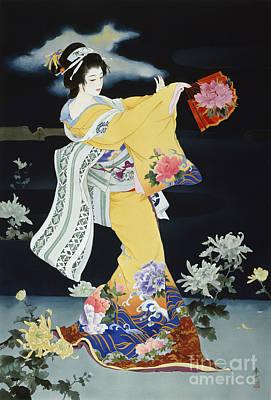 Matsuri Poster by Haruyo Morita