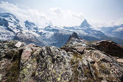 Matterhorn In Summer Zermatt Switzerland Poster by Matteo Colombo