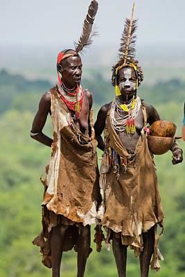 Mature Karo Tribe Women Poster
