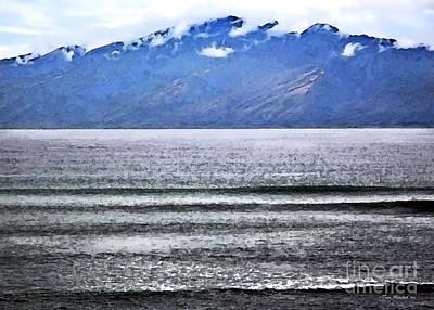 Maui By The Sea Poster by Joan  Minchak
