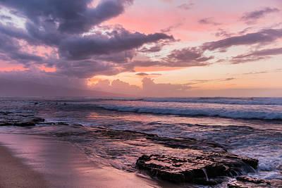 Maui Sunset Poster