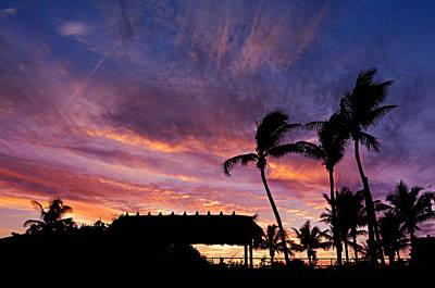 Maui Tiki Sky Poster by Laura Fasulo