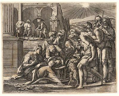 Mauro Oddi Italian, 1639-1702 After Parmigianino Aka Poster by Litz Collection
