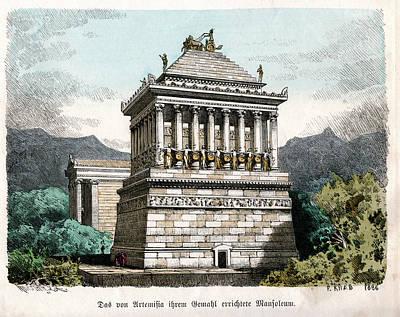 Mausoleum At Halicarnassus Poster