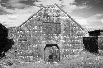 Mausoleum Rock Of Cashel Tipperary Ireland Poster by Joe Fox