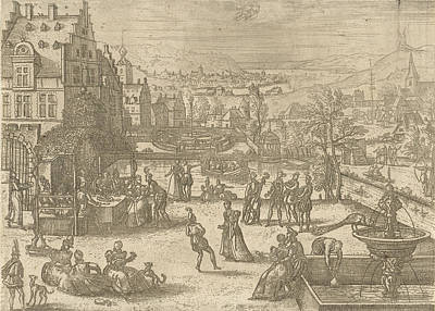 May, Pieter Van Der Borcht Poster by Pieter Van Der Borcht (i)