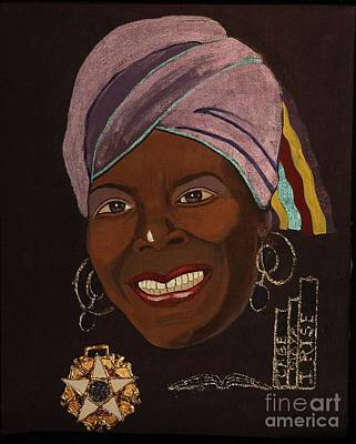 Maya Angelou I Poster by Kash Earley