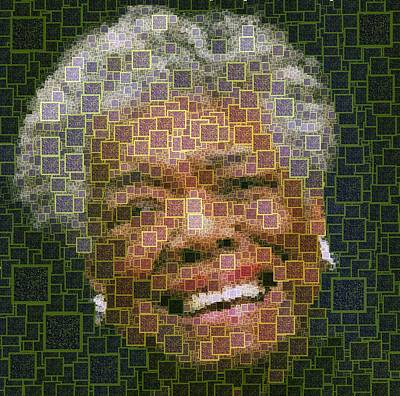 Maya Angelou - Qr Code Poster