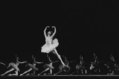 Maya Plisetskaya Dancing In The Humpbacked Horse Poster by Horst P. Horst