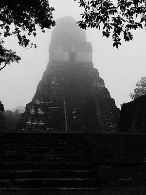 Maya Ruins 2 Poster by Xueling Zou