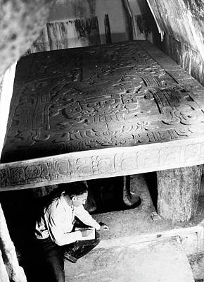 Mayan Excavation Poster