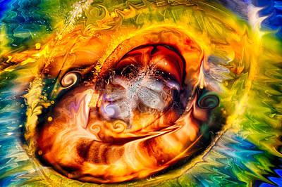Mayan God Poster