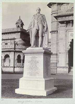 Mayo Statue Poster by British Library