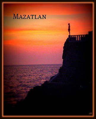 Poster featuring the photograph Mazatlan Diver by Heidi Manly