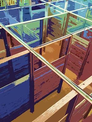 Labirinto Poster by Julio Lopez