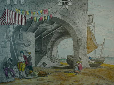 Mazorbo Venice Lagoon Poster