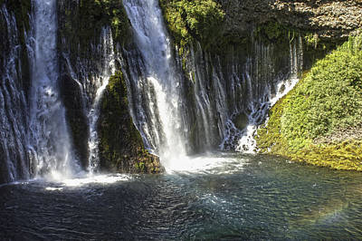 Poster featuring the photograph Mcarthur-burney Falls 2 by Sherri Meyer
