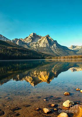 Mcgowan Peak Reflection Poster by Robert Bales