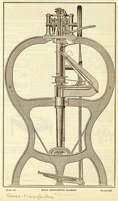 Mckay Shoe-sewing Machine Poster