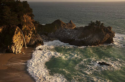 Poster featuring the photograph Mcway Falls 1 by Lee Kirchhevel