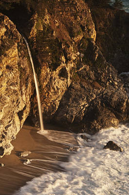 Poster featuring the photograph Mcway Falls 3 by Lee Kirchhevel