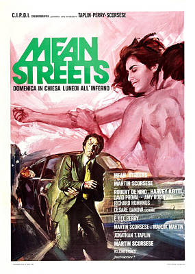 Mean Streets, Italian Poster, Top Poster by Everett