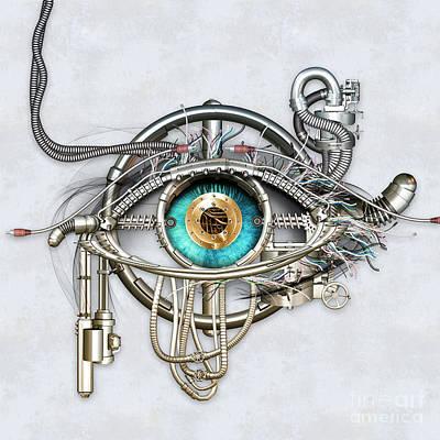 Mechanical Eye Poster
