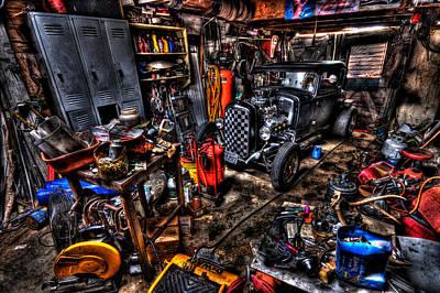 Mechanics Garage Poster