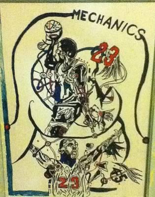 Mechanics Poster by Mj  Museum