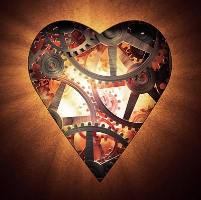 Mechanics Of The Heart Poster